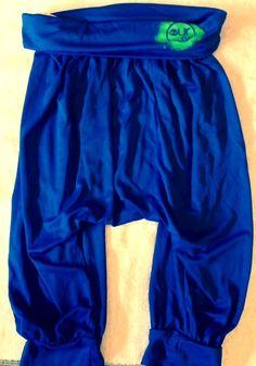 Blue Harem Genie Yoga Pants