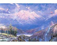 Twilight Vista by Thomas Kinkade