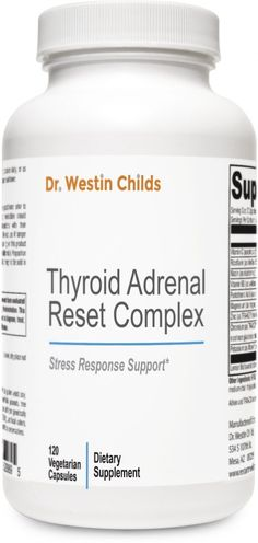 Thyroid Adrenal Reset Complex--ADMAN-CHILWE FRONT