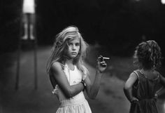 Sally Mann / Candy cigarette, 1989