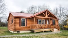 Riverwood Cabin Prefab cabins are easier to own than traditional log homes. We take care of many of the details, and we guide you through any steps in the journey that you need to be involved with. Log Cabin House Plans, Log Cabin Kits, Log Cabin Homes, Small Log Cabin Plans, Diy Log Cabin, Log Home Floor Plans, Cabin Ideas, Prefab Log Cabins, Prefab Homes