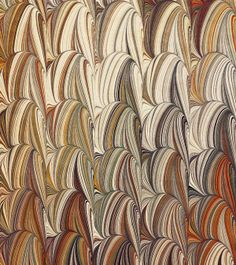 Marbled paper by artist Susan Pogany. uploaded to pinterest by the artist
