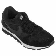 Tênis Nike Md Runner 2 Feminino - Preto e Branco - Compre Agora 0271734078a1d