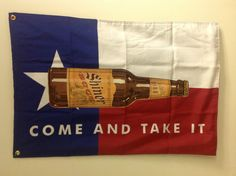 SHINER BOCK Texas Flags is would be great in the bar area!!!