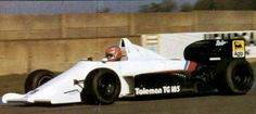 1985 Toleman hart TG 185 john watson developing the car
