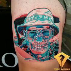 tourist tattoo- Tattoo de turista em Tattoo with effect created by tattoo artist Omar Fame (fametattoos). Dope Tattoos, Dream Tattoos, Trendy Tattoos, Tattoos For Guys, Tatoos, Tatuagem Uv, Tattoo Grafik, Tattoo Videos, Henna Tattoo Designs