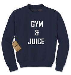 Gym & Juice Adult Crewneck Sweatshirt
