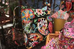 Disney World Personal Shopper: Vera Bradley Disney Line Bags & Purses