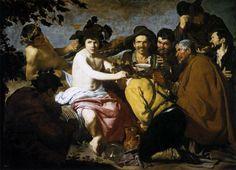 Diego Rodriguez de Silva y Velásquez - Los Borrachos, c. 1629