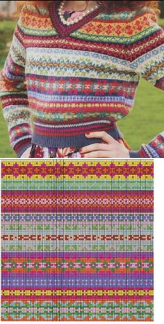 Translated version of test. Knitting Paterns, Fair Isle Knitting Patterns, Knitting Charts, Knitting Stitches, Knit Patterns, Motif Fair Isle, Fair Isle Chart, Fair Isle Pattern, Crochet Chart