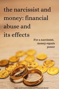 Money equals power in the mind of a narcissist. Here are fifteen signs you are being financially abused. Christian Marriage, Christian Women, Christian Life, Christian Living, Narcissistic Behavior, Narcissistic Sociopath, Christian Inspiration, Faith, Psychology