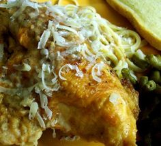 "My kids loved this...  Chicken Piccata for Pressure Cooker from Food.com:   								Italian chicken with full lemon flavor.  It is important to use fresh lemons.  When I follow Toula Patsalis in ""The Pressure Cooker Cookbook"", I never go wrong!  Serve with sauteed green beans topped with toasted slivered almonds."