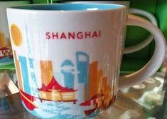 Shanghai, China | YOU ARE HERE SERIES | Starbucks City Mugs