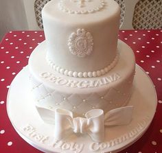 beautiful first holy communion cakes for boys - Google Search