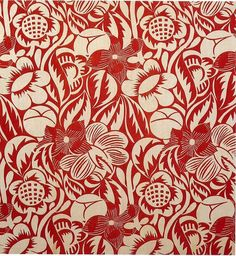Raoul Dufy fabric design.