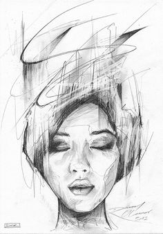 'Sketch' / pencil on A4 / by Danny O'Connor.