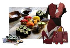 """""""Sushi Dinner"""" by cris-1121 ❤ liked on Polyvore featuring Fendi, Michael Kors, Michael Antonio, Kevin Jewelers, Magisso, Jura, Pols Potten, women's clothing, women and female"""