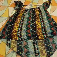 Juniors top A high low blouse Belle Du Jour Tops Blouses
