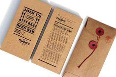 String & Button Paper Bag Envelopes