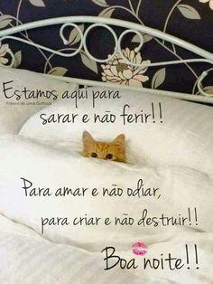 Boa noite Day For Night, Good Night, Happy Day, Lol, Words, Suzy, Sweet Dreams, Kisses, Humor