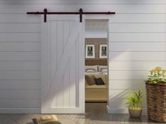 In my last post I revealed our Modern Barn Door: An easy solution for awkward entries. To say that this makeover has changed the way we function in our master ensuite, is an understatement. I'm back today for the complete details on how we built our three, contemporary styled, 4-panel doors for around $150. Yes, for …