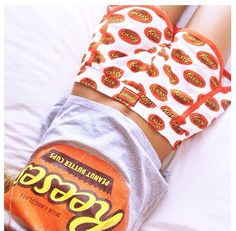 Who could resist me in these Reese's PJ's? A fun bargain from @Primark. #Pyjamas #Fashion