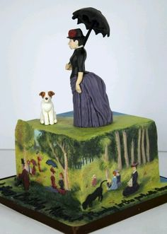 This is one of my favorite works of art, can't believe someone made it into a cake! Waaaayyyy more creative than I am!