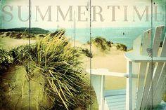 Summertime 4  Digital Download Art seaside travelling