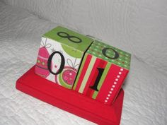 Imperfectly Beautiful: Countdown to Christmas Blocks
