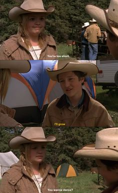 """You're too short."" - Mallory & Jake (Heartland)"