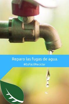 Pese a que sean pequeñas, las fugas de agua tienden a generar grandes desperdicios del liquido.  Cuanto más tiempo estén presentes es peor. 😔