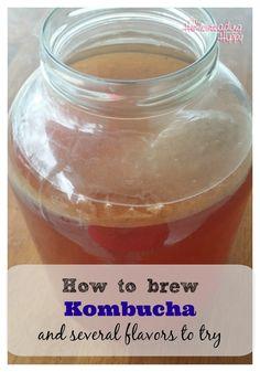 Brewing Kombucha at Home #Ferment, #Kombucha, #Recipe #HomestyleCooking