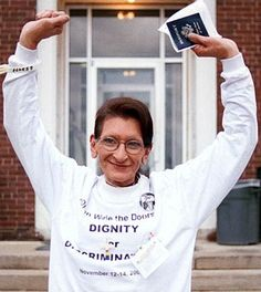 Name: Sylvia Rivera  Dates: 1951-2002    Why she rocks: She was an activist, who founded the Gay Liberation Front, the Gay Activists Alliance, and STAR (which helps provide services for homeless young trans women). She was a great voice in the fight for transgender equality. She was present during the famous Stonewall Riots, and survived the encounter, later speaking and writing about it in later years. She has been called the Rosa Parks of the transgender movement.