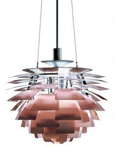 Artichoke - Copper -  Designed by Poul Henningsen for Louis Poulsen Lighting Inc.    (1958)