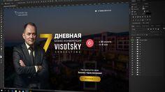 """День 139/∞    Уже завершил проект по созданию Landing Page консалтинговой конференции в Турции! Надеюсь много полезной информации получат участники. Скоро можно будет """"пощупать"""" сайт самим. Пока его передали на верстку.   #DaiwerDays #DaiwerStudio #profile #ivent #views #webdesign #uiux #graphicdesign #turkey #creative #portfolio #work #material #flat #mobile #icon"""