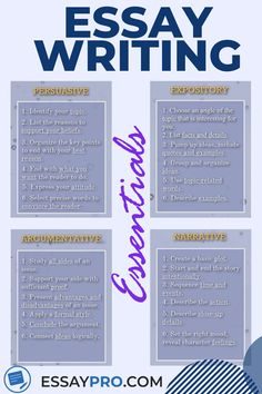 Useful and simple essay writing tips and tricks. Check out our website for more essay writing tips, essay hacks, and essay examples, as well as help with your essays, papers and any other assignments. Academic Essay Writing, Ielts Writing, English Writing Skills, Essay Writing Tips, Writing Words, Writing Lessons, Teaching Writing, Writing A Book, Thesis Writing