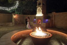 Must have a private dance in our romantic patio!