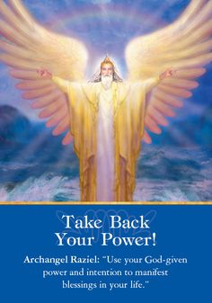 Oracle Card Take Back Your Power! | Doreen Virtue | official Angel Therapy Web site