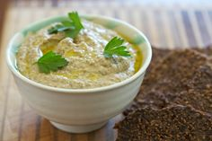 Sprouted Lentil Hummus via DeliciouslyOrganic.net