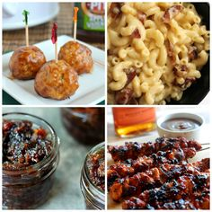 Candied Bacon Mac & Cheese? Bacon paste? I can't wait to try out these whiskey and bacon recipes! www.mantitlement.com