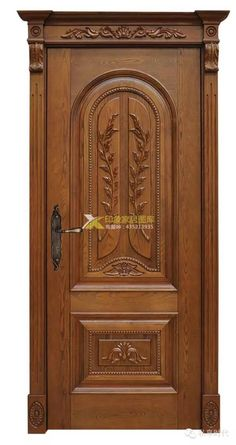 30 Ideas Carved Wooden Door Entrance 30 Ideas Carved Wooden Door Entrance oak floors stained with classic gray una puerta de cocina para hacernos u. Wooden Door Entrance, Entry Doors, Entrance Doors, Door Gate Design, Wooden Doors Interior, Door Glass Design, Main Door Design, Exterior Door Colors, Wooden Main Door