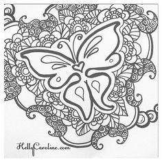 Feeling a butterfly
