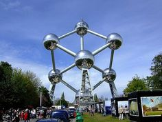 Atomium: Brussels, Belgium | Best places in the World where-in-the-world