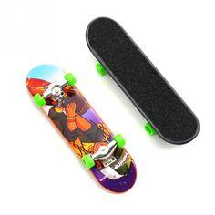 Puzzle Garden 2pcs Plastic Finger Skateboards Bikes Novelty Gag Toys Fingerboard Boys Toy Finger Skate Tech Eck Bmx