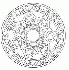 Intricate mandala Coloring Pages - Bing Images