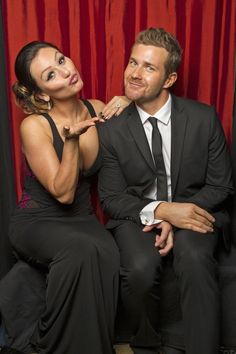 "Jenni ""JWoww"" Farley (left) and Josh Kelly (right) (Photo Courtesy of Victoria Will / TV Guide Magazine)"