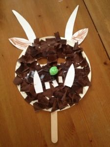 Letter X Crafts For Preschool Making bird feeders us...
