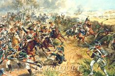 Charge of 5th Cuirassiers at Borodino