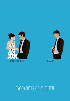 500days of summer movie poster postcard 4'X6' by LiveitupS2, $1.50