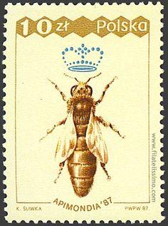 La Familia de la Apicultura - The Beekeeping of Family: SELLOS POSTALES CON…